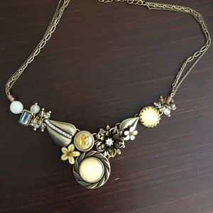 Anthropologie Vintage Style Necklace